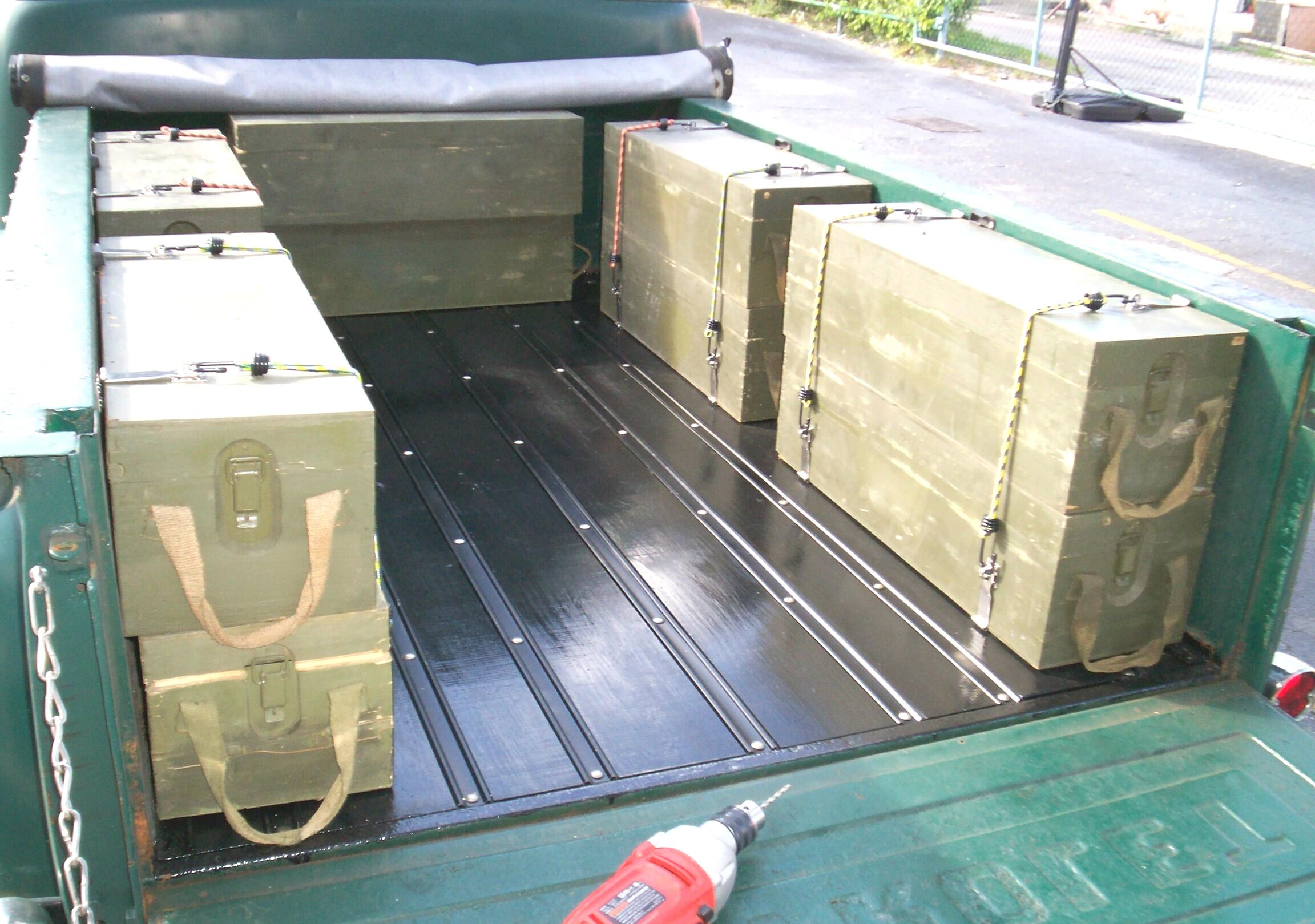 old wooden ammo boxes the garage journal board